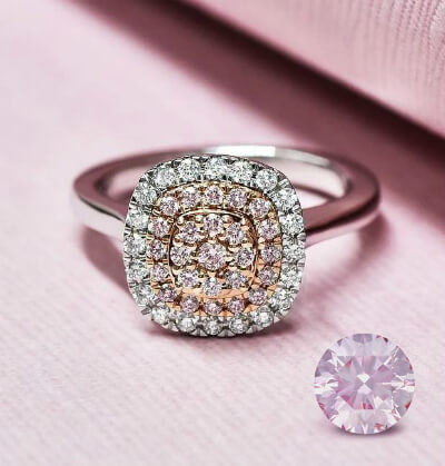 Argyle Pink Diamond At Diamonds Plus Jewellers